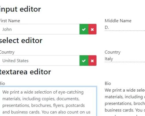 Native UI Inline-editor Angular 4+ Component | Angular Script