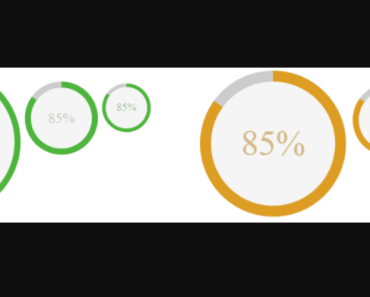 Custom Circular Progress Bar For Angular