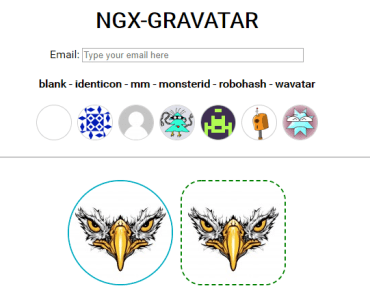 Gravatar Directive For Angular 6+