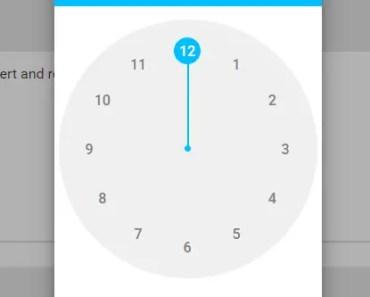 Handy Material Design Timepicker For Angular-min