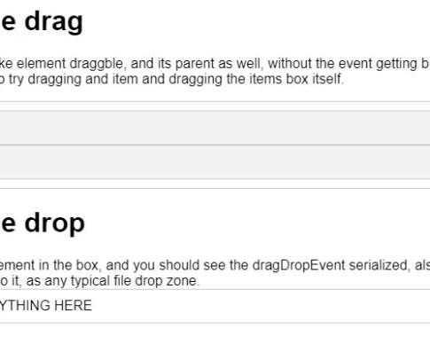 AngularJS Drag & Drop Components, Directives and Modules - Angular
