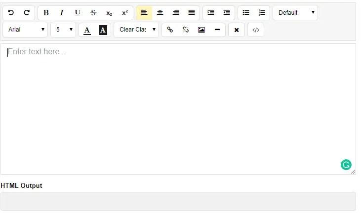 Native WYSIWYG Editor For Angular 6+ | Angular Script