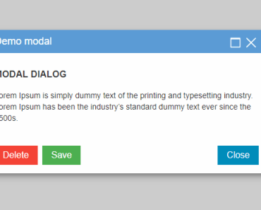 Resizable and Draggable Modal For Angular 5+-min