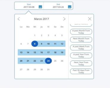 Paypal Inspired Date Range Picker For Angular 6+