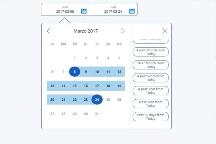 Paypal Inspired Date Range Picker For Angular 6+