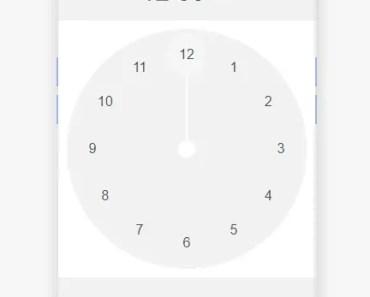 Easy Time Picker For Angular - ng-clockpicker