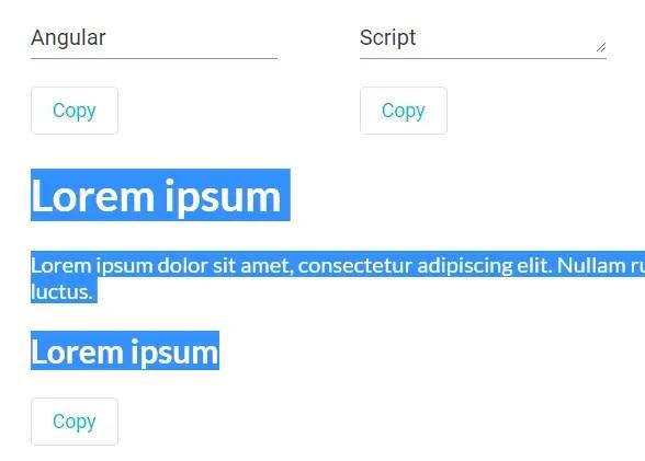 Copy Paste Directive For Angular - ngx-copypaste