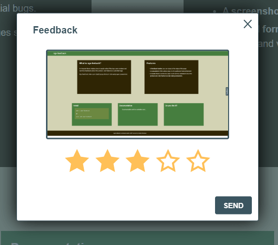 Collect Reviews And Feedbacks With ngx-feedback Library