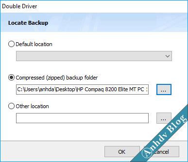 Phục hồi driver với Double Driver 1