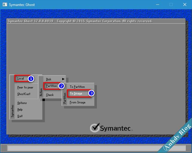 Tạo file ghost GHO win UEFI và Legacy 1