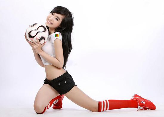 Elly Trần sexy với thời trang World cup 2010, Thời trang, elly trần, world Cup 2010, world cup, wc, hot girl