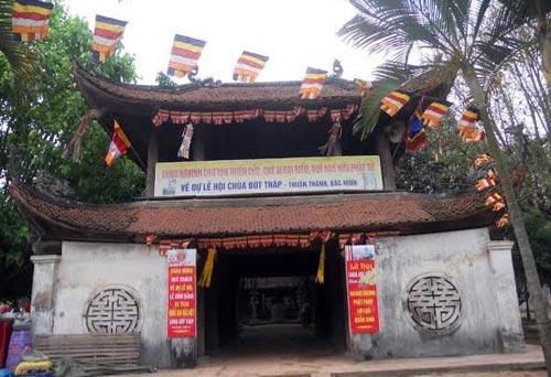 Độc đáo kiến trúc cổ chùa Bút Tháp - 2
