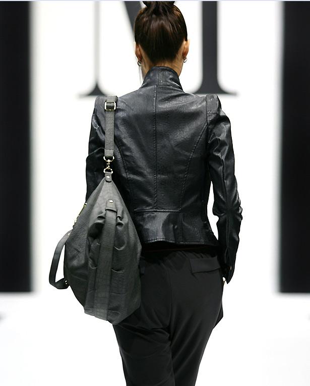 Chọn áo jacket phù hợp mọi vóc dáng, Thời trang, Ao khoac nu, thoi trang thu, ao jacket, ao khoac lung, vai jeans, vải cotton