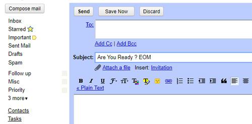 Mẹo hay cần biết khi sử dụng Gmail, Công nghệ thông tin, Meo hay can biet khi su dung gmail, meo su dung gmail, gmail, meo hay, kinh nghiem, vi tinh, internet