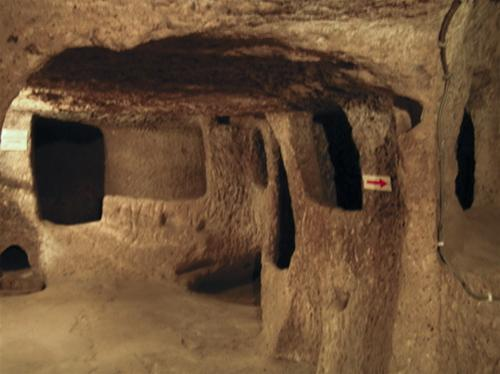 Nơi có thành phố ngầm dưới lòng đất, Du lịch, du lịch, thành phố dưới lòng đất, khám phá, Cappadocia