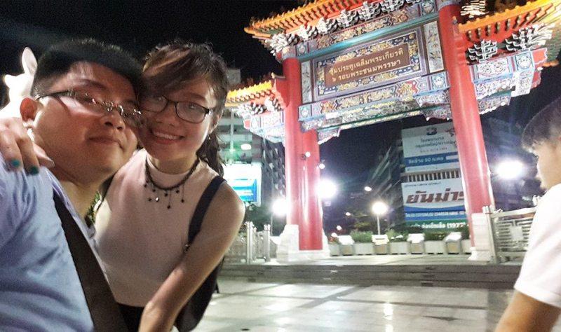 Cổng đầu đường China Town