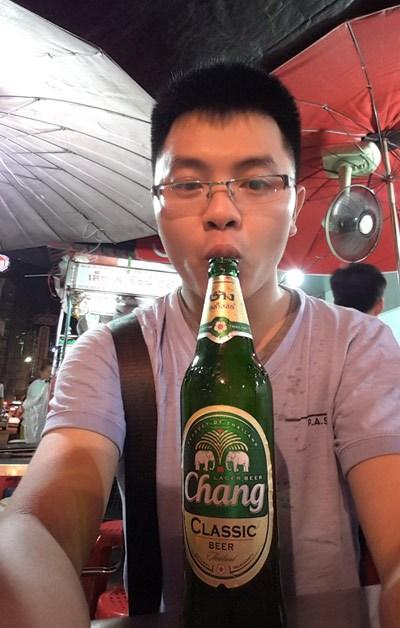 Chai bia Chang to bổ bổ :v