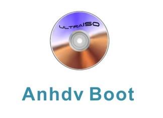 tạo usb anhdv boot với UltraISO