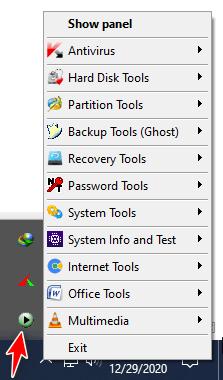 Chạy ứng dụng của Anhdv Boot trên Windows - quản lý với Pstart