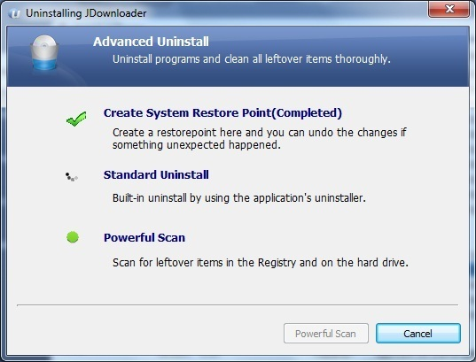 IOBit Advanced Uninstaller