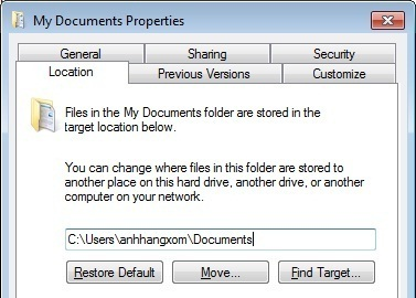 Move My Documents