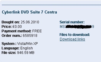 CyberlinkDVDSuite 7 Centra - Nhan key ban quyen mien phi