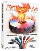 NetBurner - Ghi dia qua mang