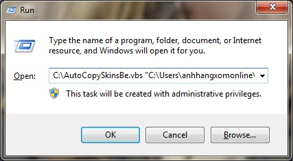 Auto Copy Image from Skins.be