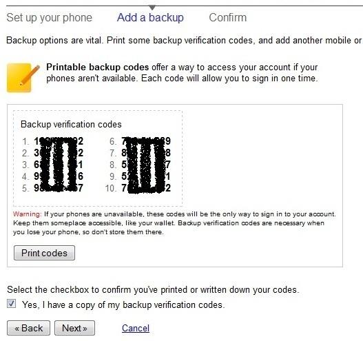 Bảo mật Gmail bằng chế độ đăng nhập kép với điện thoại di động