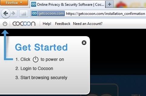 Cocoon - Giúp Firefox truy cập được facebook với IP từ Mỹ