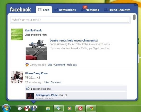 Pokki - Truy cập Gmail, Facebook, Twitter ngay tại thanh taskbar