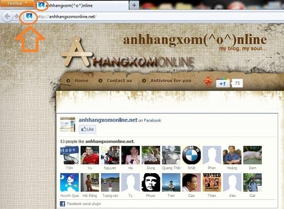Tạo và hiển thị icon cho blog trên thanh address của trình duyệt