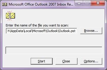 Outlook Inbox repair tool - Sửa chữa hộp thư Outlook