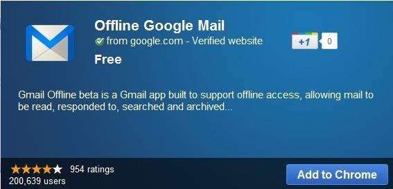 Truy cập Gmail ngay cả khi không có mạng Internet