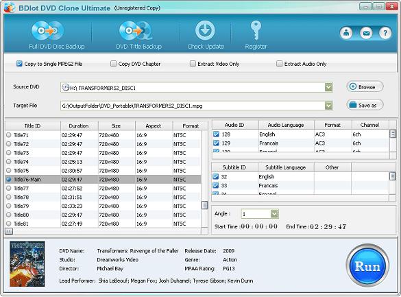 BDlot DVD Clone Ultimate - Nhận key bản quyền miễn phí