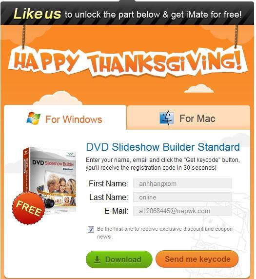 DVD Slideshow Builder Standard - Nhận key bản quyền miễn phí
