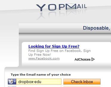 Cách đơn giản và hên xui để có địa chỉ email