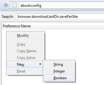 Ép Firefox ghi nhớ đường dẫn download mới nhất