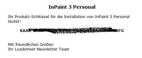 InPaint 3 - Nhận key bản quyền miễn phí