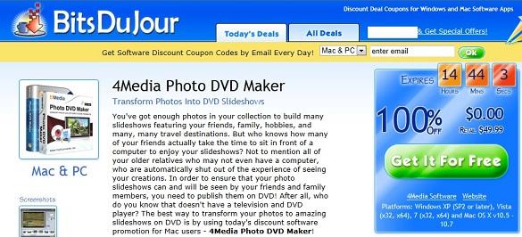 4Media Photo DVD Maker - Nhận key bản quyền miễn phí