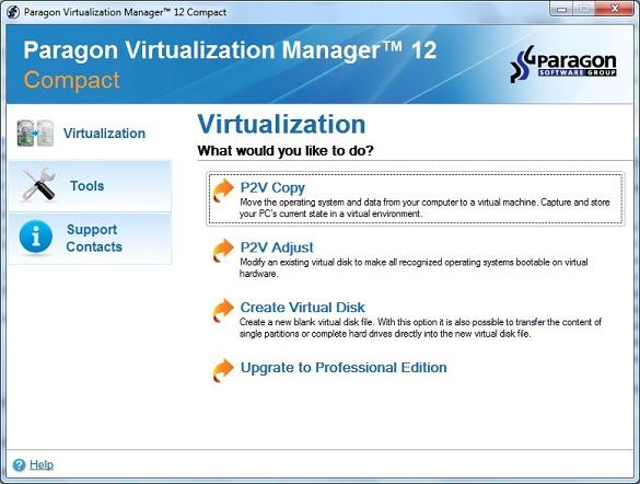 Paragon Virtualization Manager 12 Compact - Nhận key bản quyền miễn phí