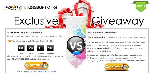 WinX DVD Copy Pro - Nhận key bản quyền miễn phí
