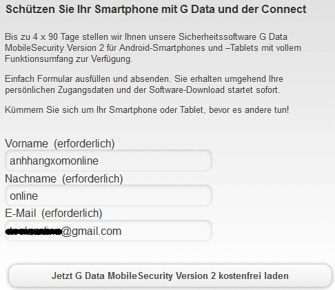 G-Data Mobile Security for Android - Nhận key bản quyền 1 năm miễn phí