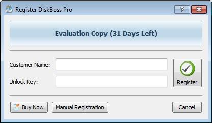 DiskBoss Pro - Nhận key bản quyền miễn phí
