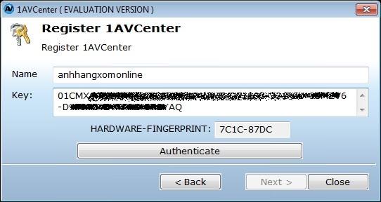 1AVCenter - Nhận key bản quyền miễn phí phần mềm quay phim webcam và màn hình máy tính