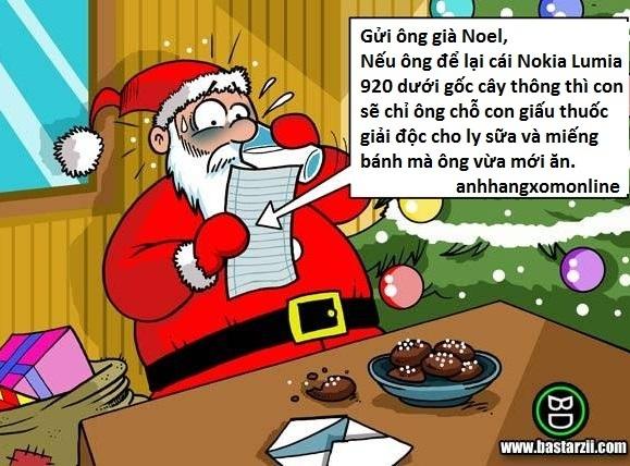 Thư gửi ông già Noel