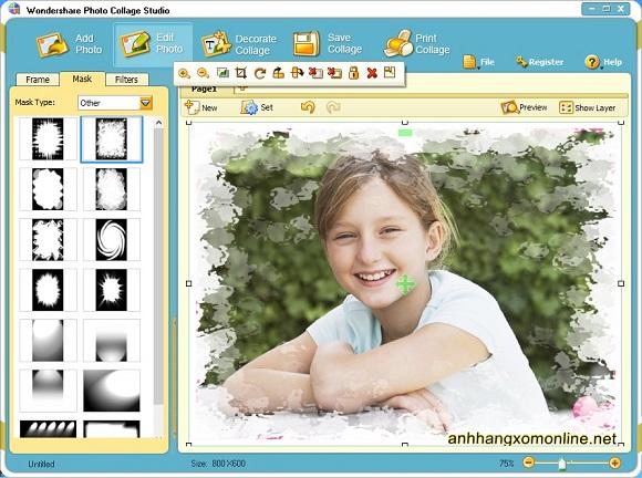 Wondershare Photo Collage Studio - Phần mềm tạo hiệu ứng và trang trí hình ảnh