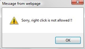 Giải cứu menu chuột phải khi lướt web