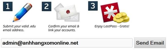 Tạo và nâng cấp tài khoản Lastpass lên Premium trong hơn 2 năm