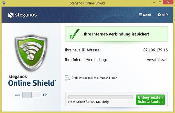 Steaganos Online Shield 365 - Nhận key bản quyền 1 năm miễn phí